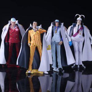 Bộ mô hình One Piece 4 đô đốc Hải Quân Sengoku, Akainu, Aokiji, Kizaru