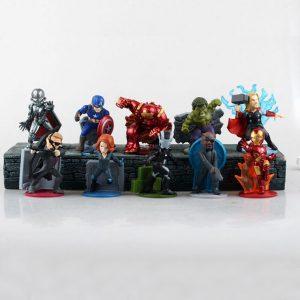 Bộ mô hình Avengers chibi M01