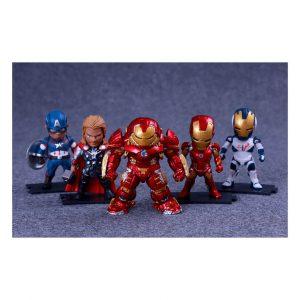 Bộ mô hình Avengers chibi M02
