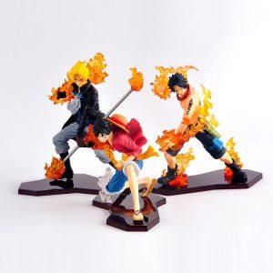 Bộ mô hình One Piece Luffy Sabo ACE M01