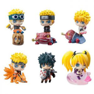 Bộ mô hình Naruto Chibi M04