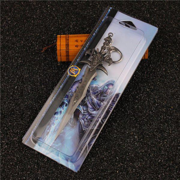 Móc khóa Mô hình DOTA WoW Sword Lich King Arthas