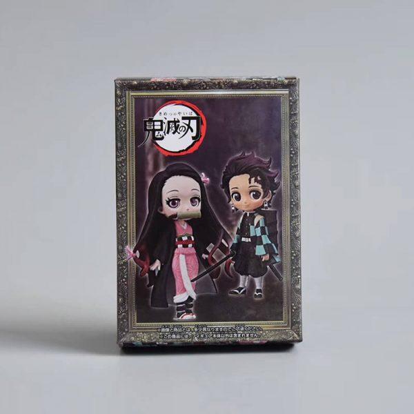 Mô hình Kimetsu No Yaiba nhân vật Kamado Tanjirou và Kamado Nezuko MH449