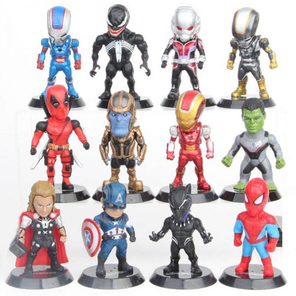 Mô hình Marvel 12 nhân vật MH446