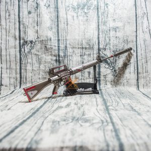 Mô hình PUBG M16A4 skin Shark Bite full option size 37