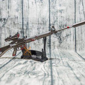 Mô hình PUBG M16A4 skin Shark Bite full option size 37