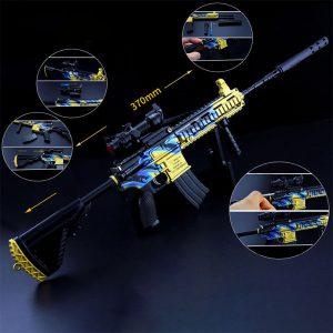 Mô hình PUBG M416 full option size 37 MH432