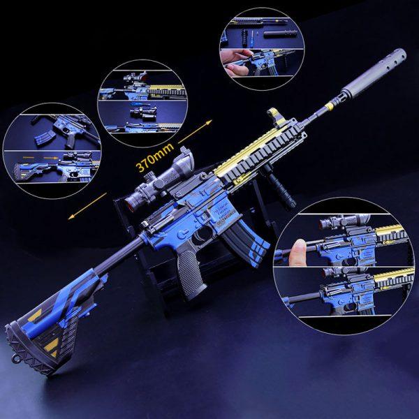 Mô hình PUBG M416 full option size 37 MH433