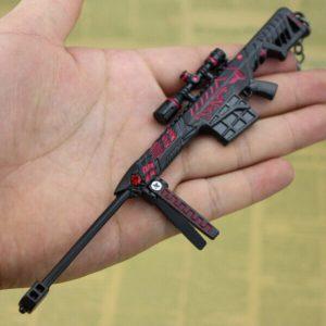 Móc khóa mô hình Đột kích Barrett Born Beast