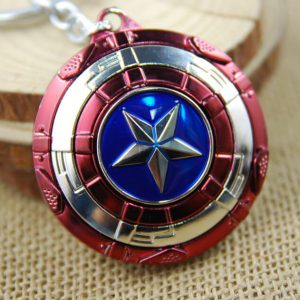 Móc khóa mô hình Captain America Shield M01