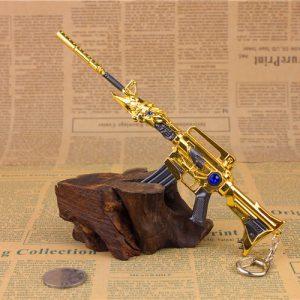 Móc khóa mô hình Đột kích M4A1 Transformers Noble Gold