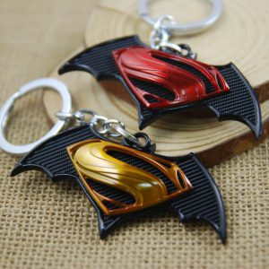 Móc khóa mô hình DC Superman VS Batman M01